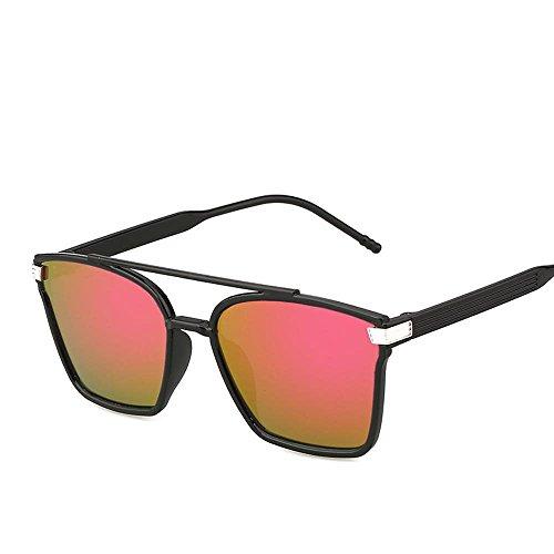 soleil lumineuse soleil rétro grosse Aoligei couleur boîte de élégant film Mode F lunettes réfléchissant couleur de lunette tnPWqPU1
