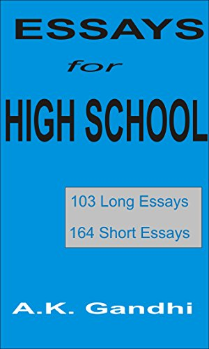 amazoncom essays for high school  long essays  short essays  essays for high school  long essays  short essays by gandhi a k