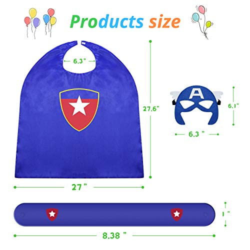 Roko Toys for 3-10 Year Old Boys, Superhero Capes for Kids 3-10 Year Old Boy Gifts Boys Cartoon Dress up Costumes Party…