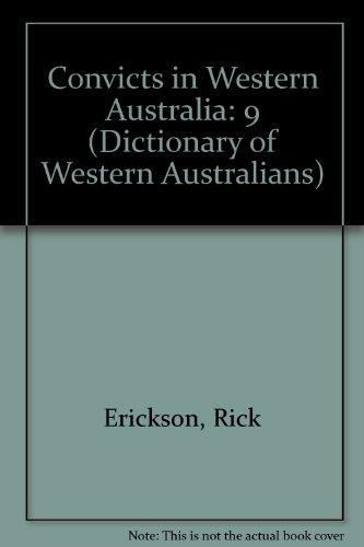 [Book] Convicts Western Australia (Dictionary of Western Australians) K.I.N.D.L.E