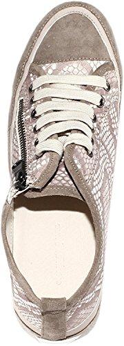 Charles Av Charles David Kvinnor Angela Snörning Mode Sneaker Orm Trycket / Grå