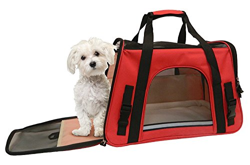 - Coleman Adjustable Shoulder Strap Pet Carrier Open Dimensions: 17