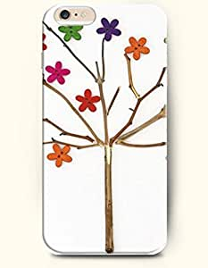 OOFIT iPhone 6 Case ( 4.7 Inches ) - Star Slend Branches Tree