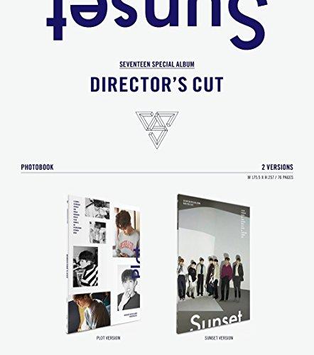 SEVENTEEN Directors Cut [PLOT and SUNSET ver. ] (Special Album) 2 CD Set
