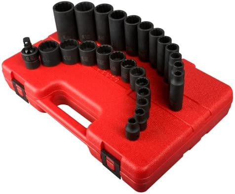 Sunex 3326 8 Inch 12 Point 25 Piece product image