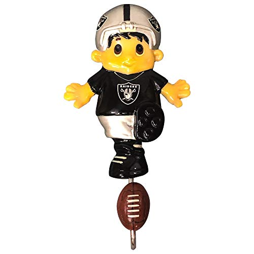 Oakland Raiders NFL Mascot Wall Hook (7)