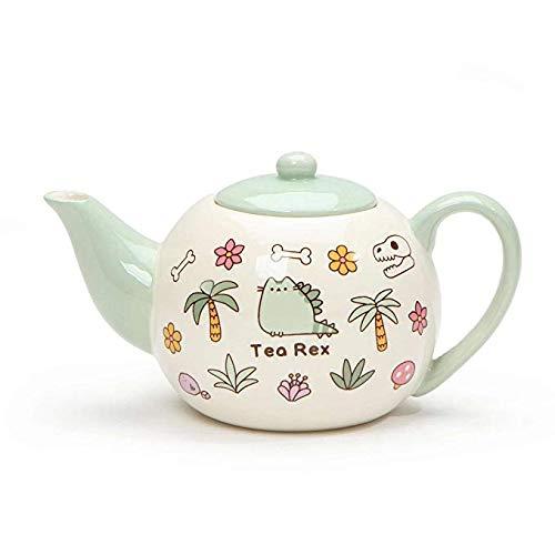 Pusheen Tea Rex Tea Cup and Matching Tea Pot