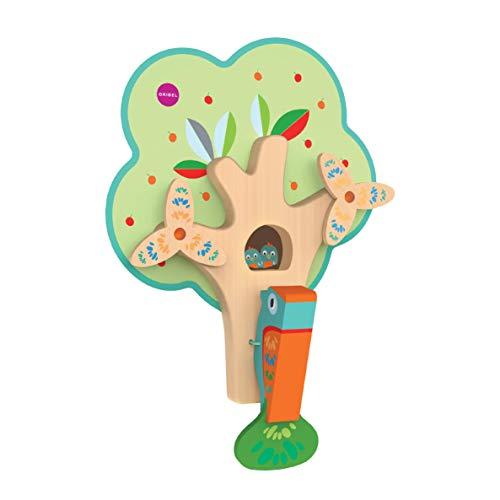 ORIBEL VertiPlay Wall Toys Combo Set (Tree Top Adventure, Woodpecker, Xylophone, Door Knocker) by ORIBEL (Image #3)