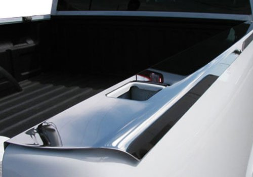 Willmore Dodge Ram Polished Stainless Steel Bed Caps with Stake Hole Cutouts - BR4425-SP BR4425SP