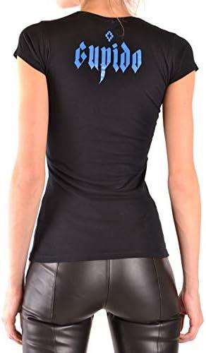 MARCELO BURLON Luxury Fashion Donna MCBI38662 Nero Cotone T-Shirt | Stagione Outlet