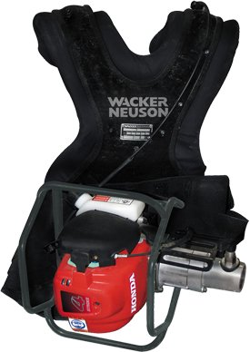 BV 35A-P Backpack Vibrator Kit (SPM3+PH45) by Wacker Neuson