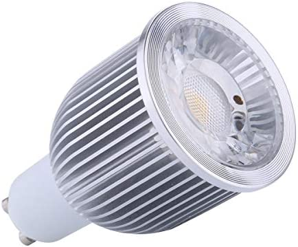 Bombilla LED GU10 10 W Dimmable 15 ° 850 lm 90 – 260 V blanco cálido 3000 K, ledart. Iluminación cuadro & objeto decoración