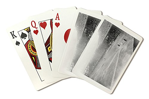 World Series, Giants at Phillies, Baseball - Vintage Photograph (Playing Card Deck - 52 Card Poker Size with Jokers) -