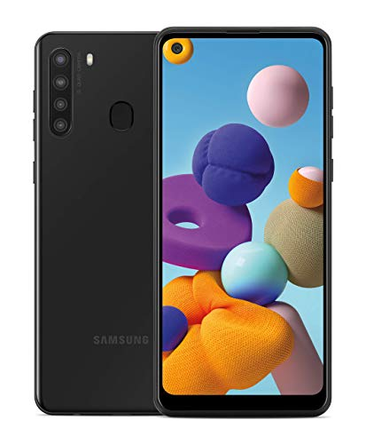 SAMSUNG Galaxy A21 Factory Unlocked Android Cell Phone | US Version Smartphone | 32GB Storage | Long-Lasting Battery, 6…
