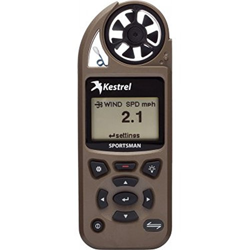 Kestrel Sportsman Weather Meter with Applied Ballistics with LiNK Coyote Brown 0857SLBRN