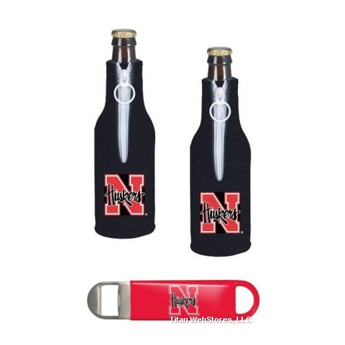 NCAA Nebraska Cornhuskers Bottle Suits and Speed Opener Gift Set