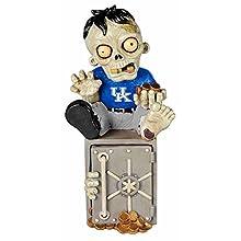 NCAA Kentucky Wildcats Resin Zombie Bank, One Size, Blue