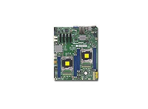 Supermicro Dual LGA2011, Intel C612, DDR4, SATA3, V & 2GbE, EATX Server Motherboard X10DRD-INTP-O ()