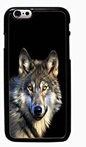 Wolf Animal Hard Case for Apple iPhone 6 6G 4.7 ( Sugar Skull )