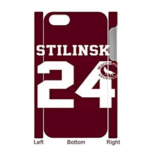 iPhone 4 4S 3D Cell Phone Case Teen Wolf Stiles Stilinski Custom Case Cover A1QA401037