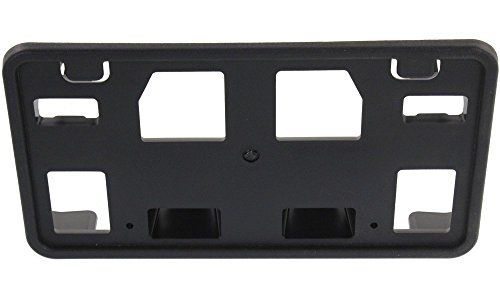 Ford Xlt Van (Evan-Fischer EVA197081513303 License Plate Bracket for Ford Econoline Van 08-14 Front Black Replaces Partslink#FO1068138)