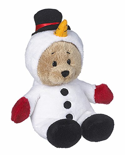Wee Bears Costumed Teddy Bear: Snowman - By Ganz Ganz Soft Bear