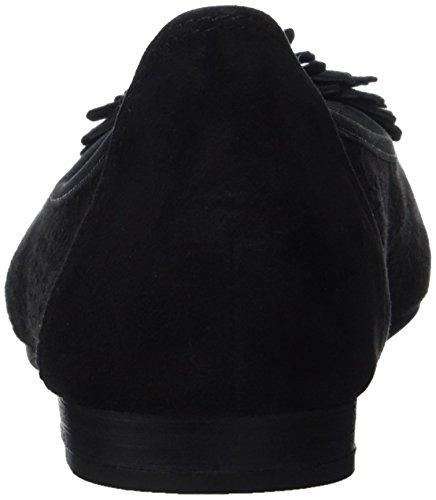 22116 Nero Marco Tozzi Premio Donna 001 Ballerine black EnvqwC