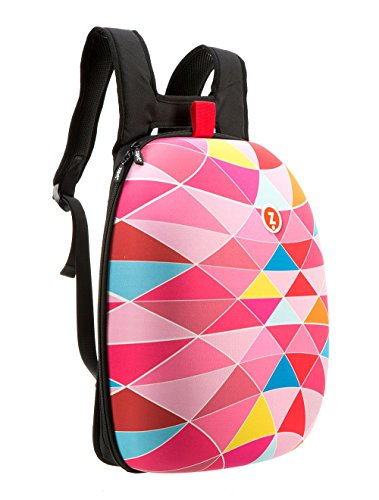 ZIPIT Shell Laptop Backpack, Pink (ZSHL-PKT)