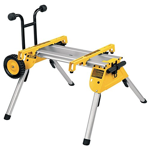 DEWALT DE7400-XJ Heavy-Duty Rolling Table Saw Stand by DEWALT