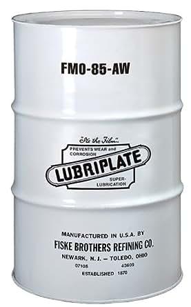 Lubriplate L0880-062 FMO-85 AW Multi-Purpose, Food Grade USP White Mineral Oil, 1 Drum
