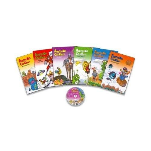 Aventuras Creativas(6vol+cd) P. USD: GRIJALBO: Amazon.com: Books