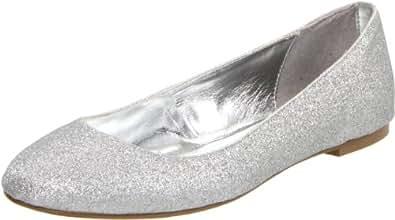 Lava Women's Kim Flat,Silver,6.5 M US