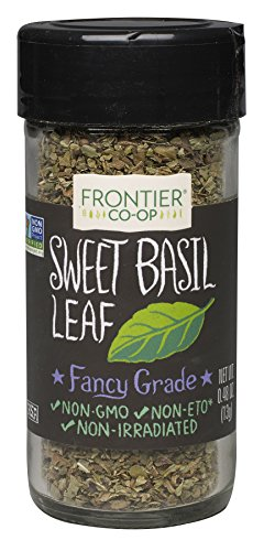 Frontier Natural Products Basil Leaf, Sweet, 0.48-Ounce