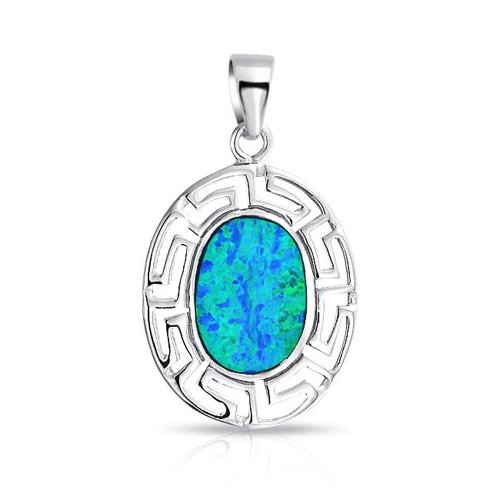 Bling Jewelry Sterling Synthetic Pendant product image