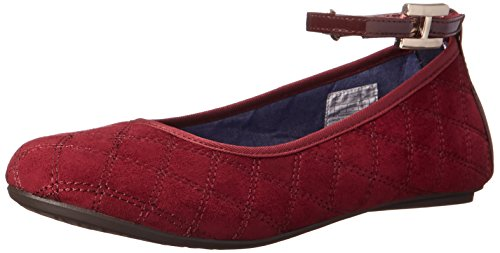 Tommy Hilfiger Kids Kayleigh Signature Flat Skimmer ,Red,3 M