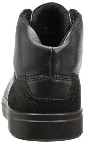 Ecco Heren Kyle Streetboot Fashion Sneaker Zwart / Zwart