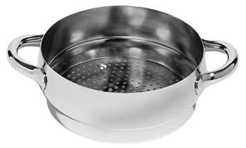 Alessi SG307 Mami - Utensilio para cocinar al vapor (acero ...