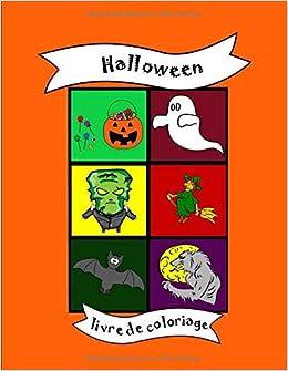 Livre De Coloriage Halloween Citrouille Des Bonbons Ou Un Sort