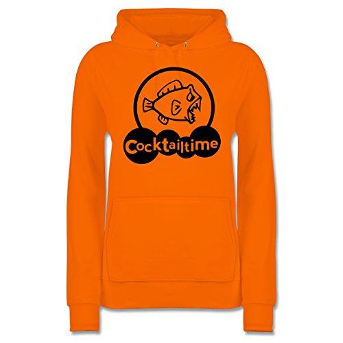 Shirtracer Küche - Cocktailtime - Damen Hoodie Orange erllYpgRx