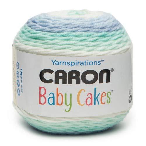 Caron Baby Cakes Fresh Air 100g 100/% Acryl