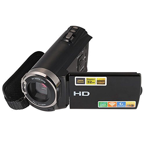Andoer 3.0' Camcorder TFT LCD Touching Screen 1080P Full HD 20MP 16X Zoom...