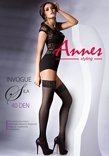 calze bianco donna nero Porta Annes 5nZqU8Y