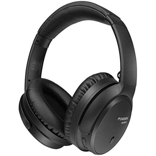 Active Noise Cancelling Headphones, Apollo 11 Bluetooth Headphones with Mic Deep Bass Hi-Fi Sound, Wireless Foldable…