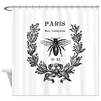 BMALL PARIS BEE Shower Curtain