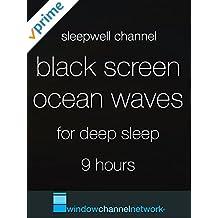 Black Screen Ocean Waves for Sleep 9 hours