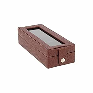 Mini estuche para anillos Talla: U Color: MARRON: Amazon.es ...