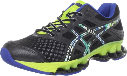 ASICS Men's GEL-Rebel Running Shoe,Black/Pop Art/Lime,11 M US
