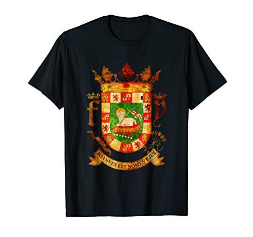 Puerto Rico T-Shirt - Coat Of Arms Shirts