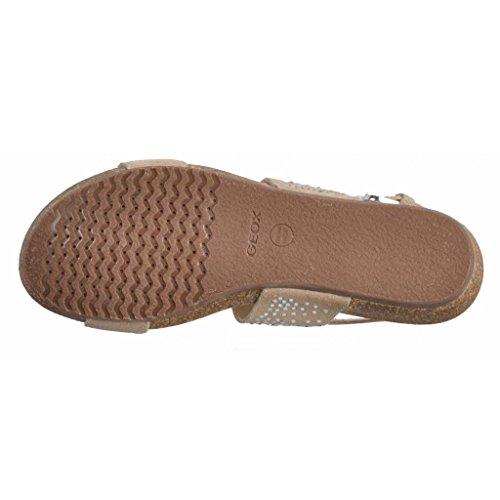 Le Donne c6738 Per D Grigio Grigio Geox Marca Infradito Colore A Vinca Sporco Bianco Donne Modello Sandali E TqxFxUI