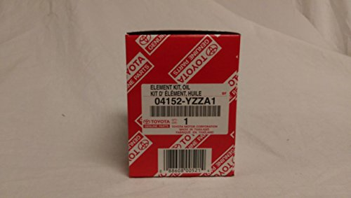 Toyota Original Parts 04152-YZZA1 1/2 case (QTY5) Oil Filters Model: Car/Vehicle Accessories/Parts